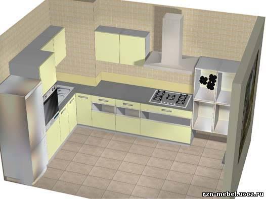 Кухни для 9ти этажек 1, купить в набережные Челнах, (каталог.